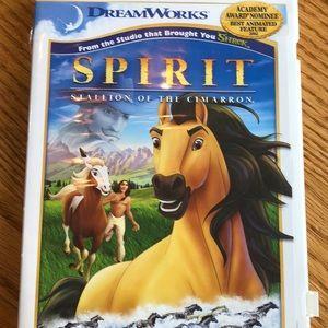 Spirit stallion of the Cimmaron DVD